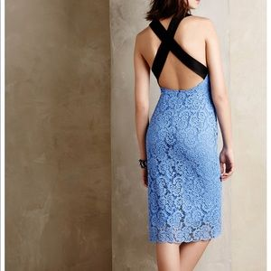 Nanette lepore crossback dress